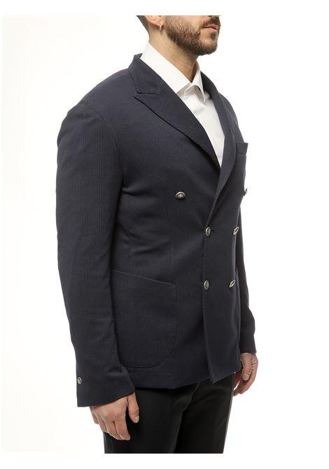 Giacca doppio petto decostruita EDITORIAL CLOTHING | 3 | GC102 DPBLU NOTTE