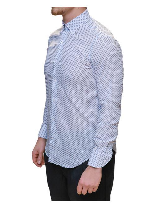 Camicia manica lungo misto lino J.J.OLSON | 5032236 | 0852700801