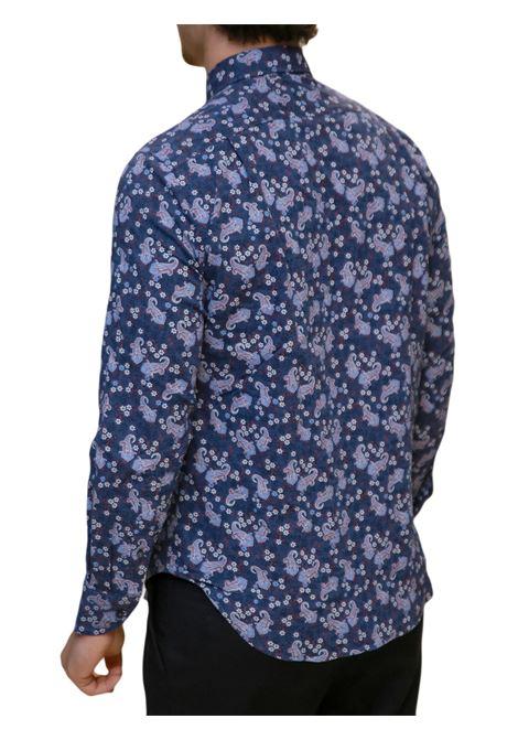 Camicia manica lunga misto lino regular fit J.J.OLSON | 5032236 | 0854700803