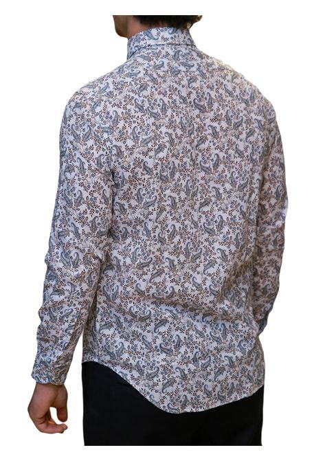 Camicia manica lunga misto lino regular fit J.J.OLSON | 5032236 | 0854700810