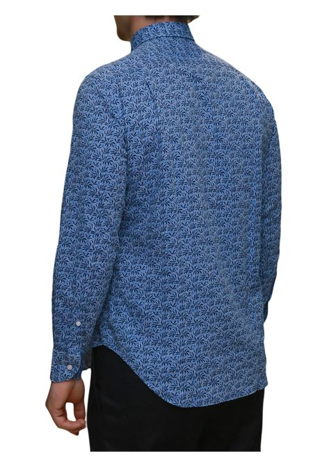 Camicia manica lunga misto lino J.J.OLSON | 5032236 | 0874700803
