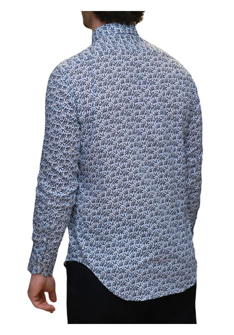 Camicia manica lunga misto lino J.J.OLSON | 5032236 | 0874700810