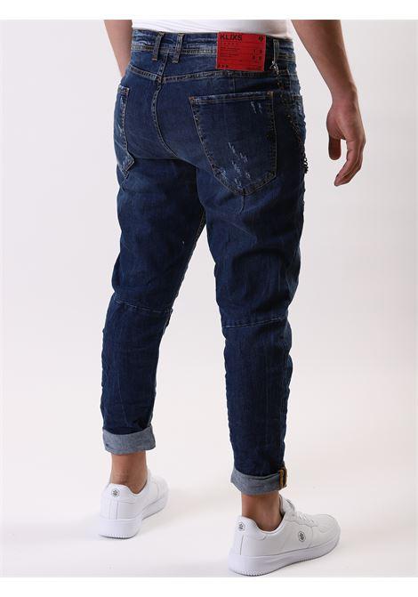Jeans 5 tasche KLIXS JEANS | 24 | 01170MGNAVY