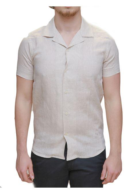 Camicia mezza manica lino MARKUP | 6 | MK993007CORDA