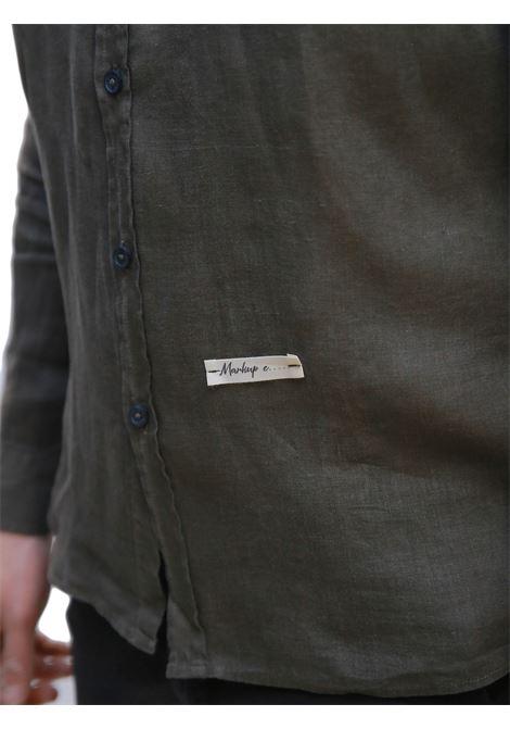 Camicia manica lunga MARKUP | 5032236 | MK993017MILITARE