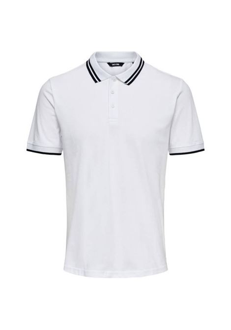 ONLY & SONS | 5032235 | ONSALBERTO POLOWHITE