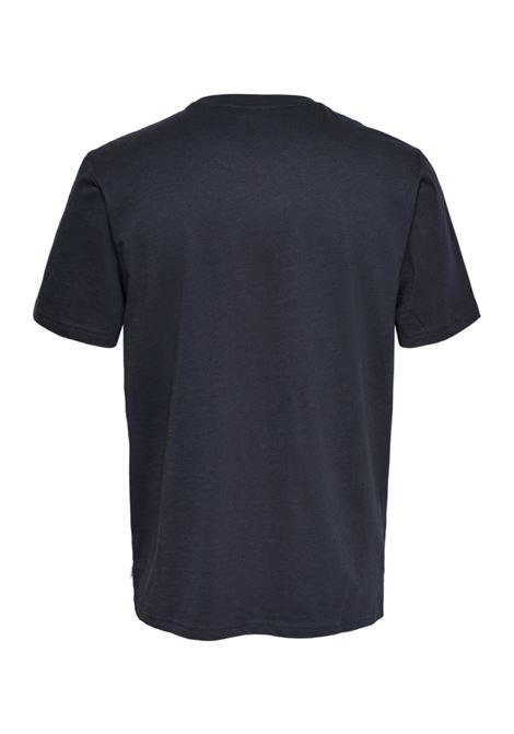 T-shirt mezza manica ONLY & SONS | 8 | ONSALBERTO TEENAVY