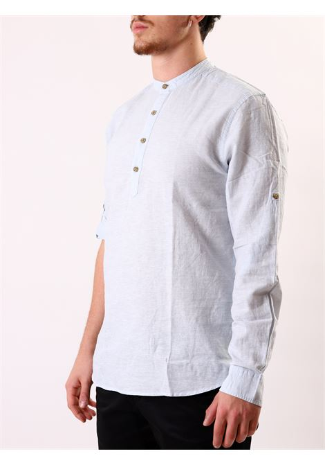 Camicia slim fit manica lunga ONLY & SONS | 10000008 | ONSCAIDEN LINENCASHMERE