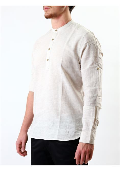 Camicia slim fit manica lunga ONLY & SONS | 10000008 | ONSCAIDEN LINENPELICAN