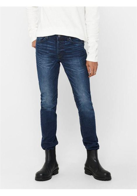 Jeans skinny fit Articolo 22017108 ONLY & SONS | 24 | ONSLOOM 7108BLU