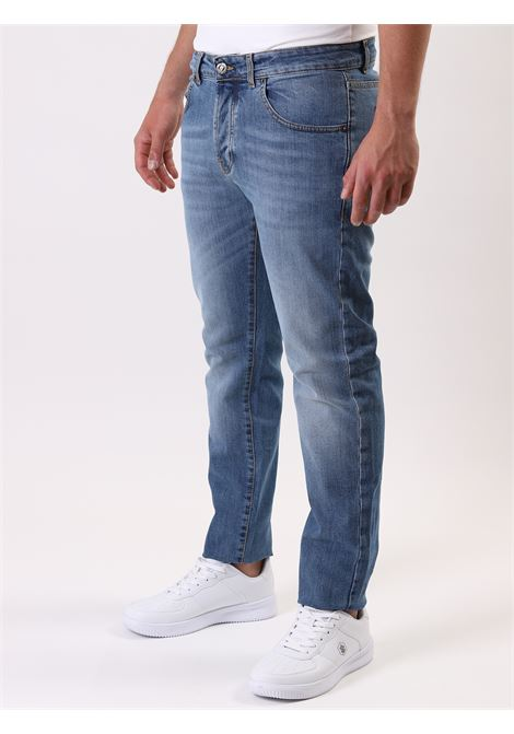 Jeans 5 tasche TERZA GENERAZIONE DENIM | 24 | 01CHAZZURRO