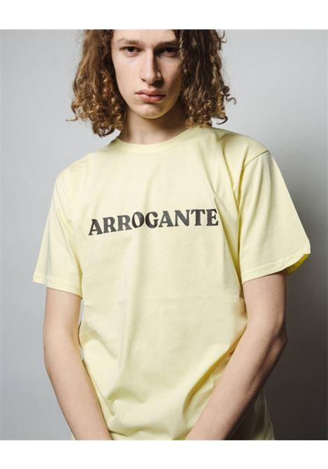 T-shirt mezza manica WHY NOT BRAND | 8 | T06 ARROGANTEGIALLO