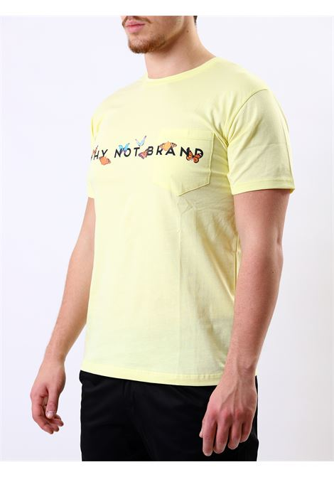 T-shirt mezza manica WHY NOT BRAND | 8 | T62 LOGOGIALLO