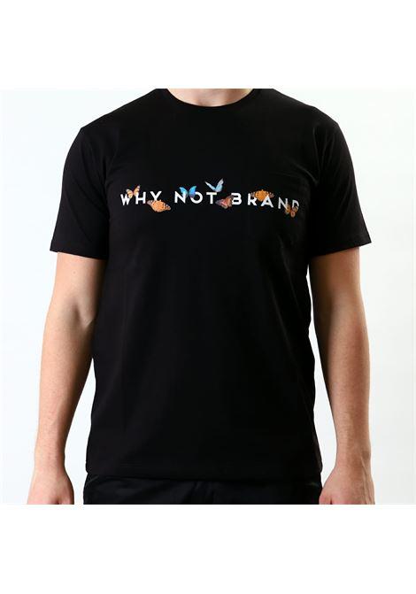 T-shirt mezza manica WHY NOT BRAND | 8 | T62 LOGONERO