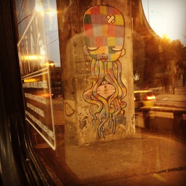 Bêbe monstro! #paulodefrontin #urbanart #graffiti #riodejaneiro #brazil