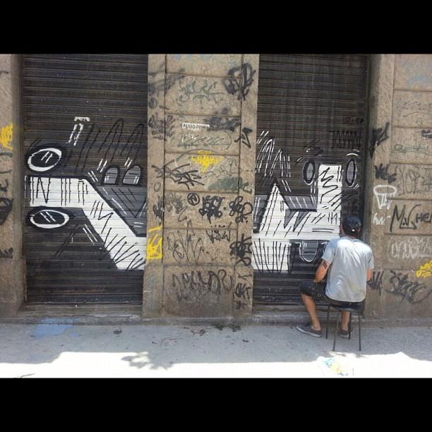 #rio #mof #rj #streetart #arteurbana #urbanart #vzanini