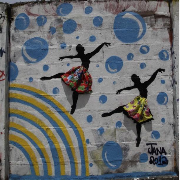 Grafite by Jana artista multitalentosa