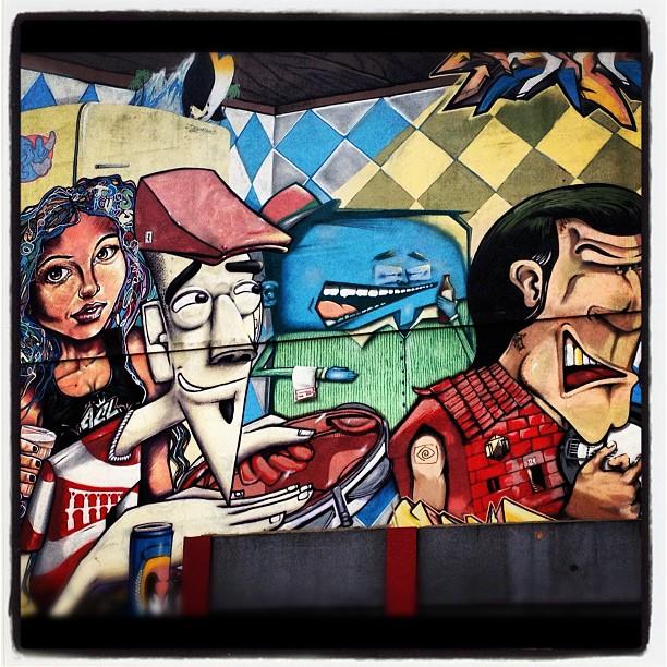 Grafiti no detalhe! #rioeuamoeucuido #lapa #instantgrafiti