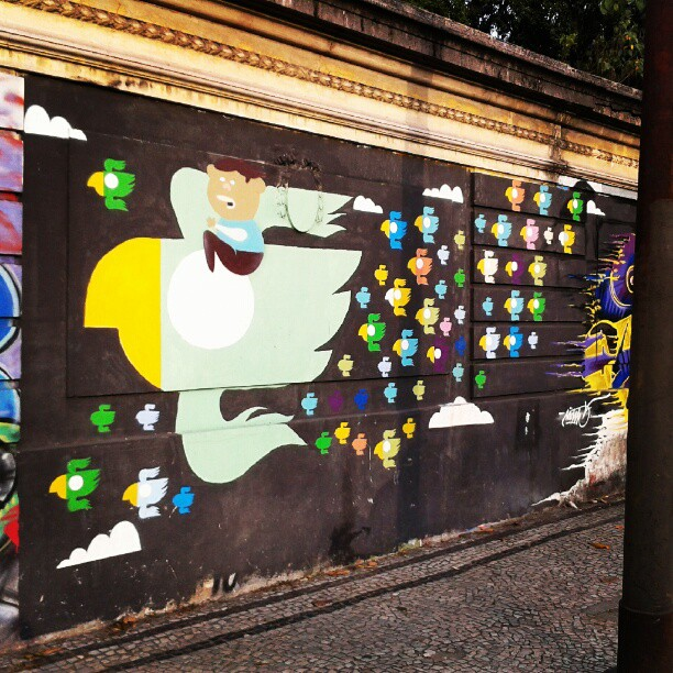 #instapic #instagraffiti #artrua #streetartrio #streetart #streetartbrazil