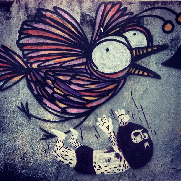 Das antigas! 2011 #streetartrio #rafocastro #caze