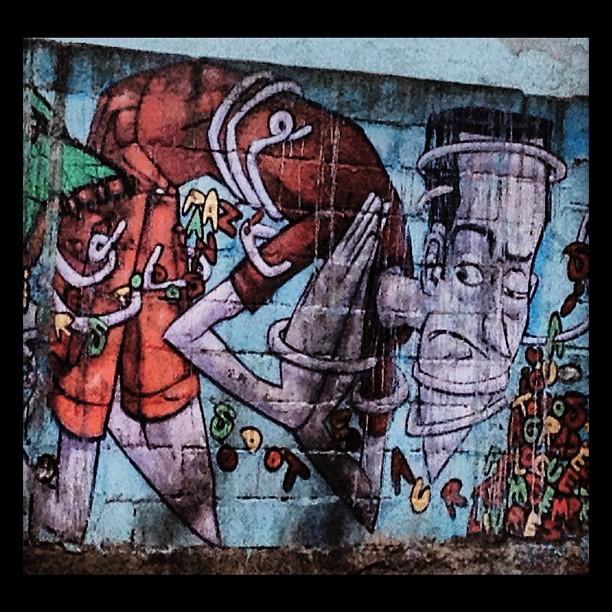 Estácio. #marcelo_eco #grafite #murosdorio