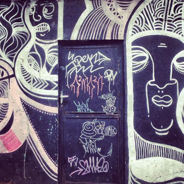 Muro da Cobal do Humaitá #StreetArtRio