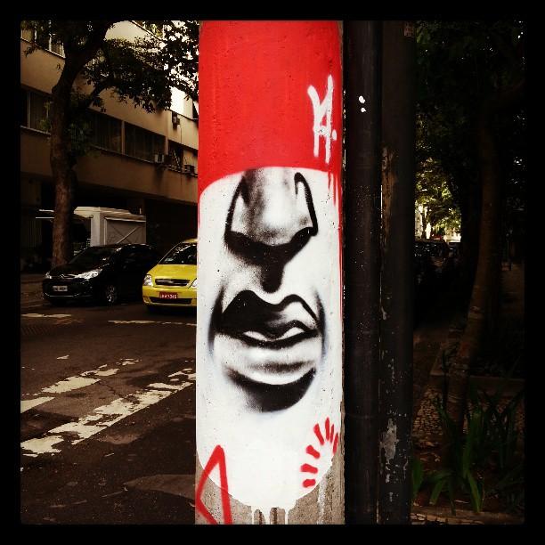 #artenarua #streetart #graffitiart