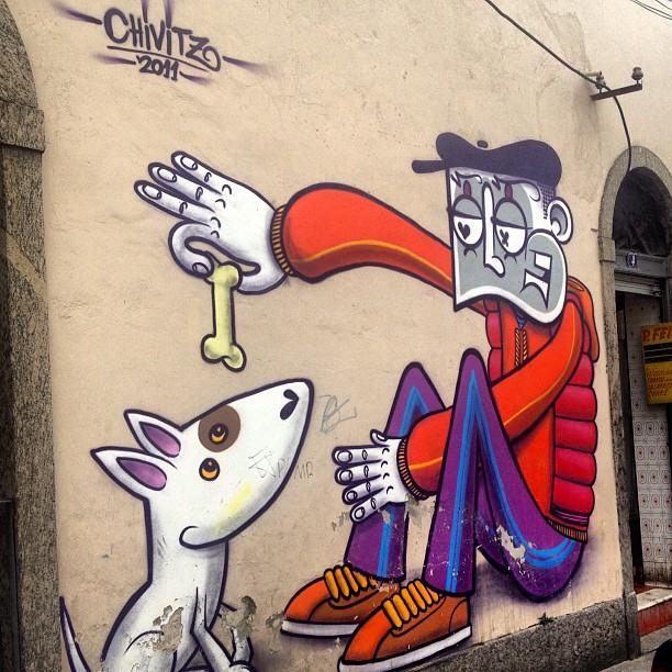 @chivitz #artrua #streetart #streetartrio #streetartbrazil #instapic #instagram #instagraffiti