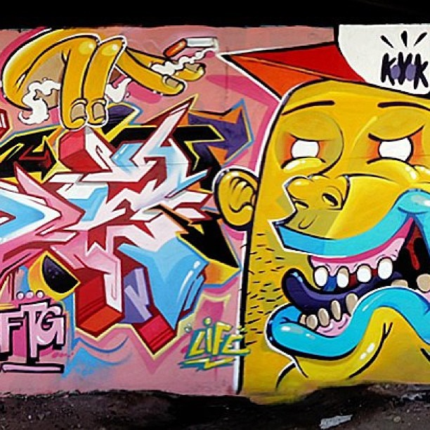 @lifekvk #artrua #streetart #streetartrio #streetartbrazil #instapic #instagram #instagraffiti #graffiti