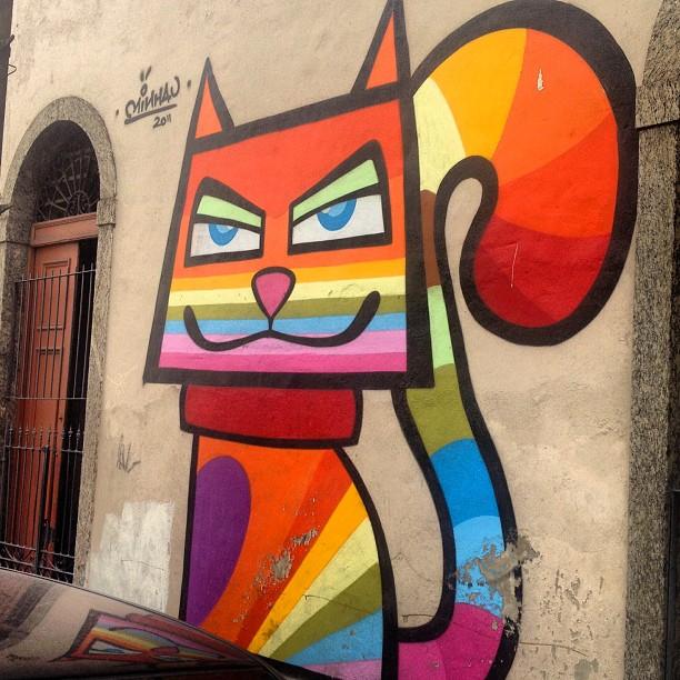 @minhau #artrua #streetart #streetartrio #streetartbrazil #instapic #instagram #instagraffiti #graffiti