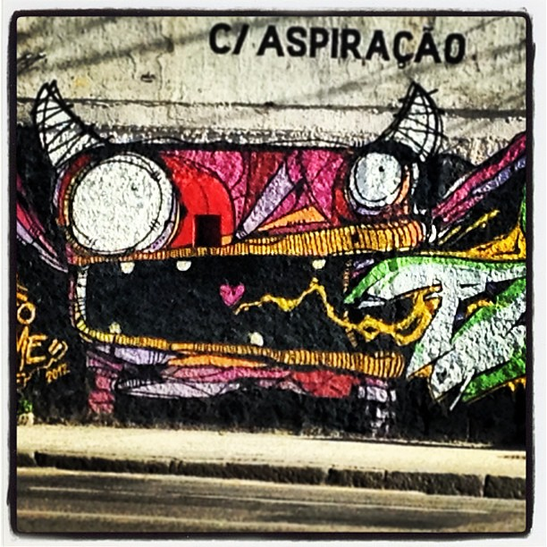 Bocão! #grafite #murosdorio