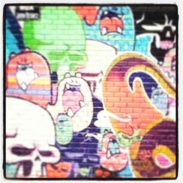 Gostei dessa #streetartrio aqui na lagoa #rj