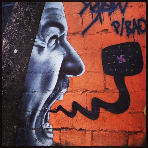 Grito! #grafite #murosdorio