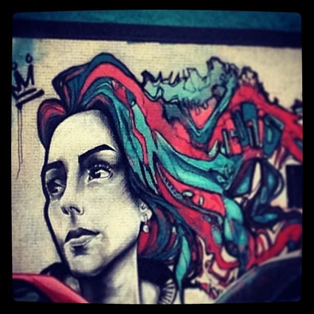 No Sanduka, na João Afonso. #grafite #murosdorio