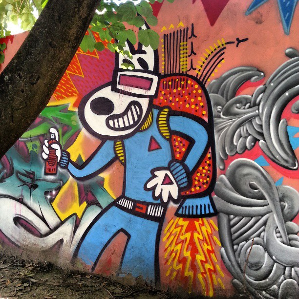 #artenarua #graffitiart
