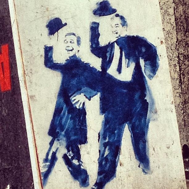 O gordo e o magro!!! #grafite #murosdorio #graffrio