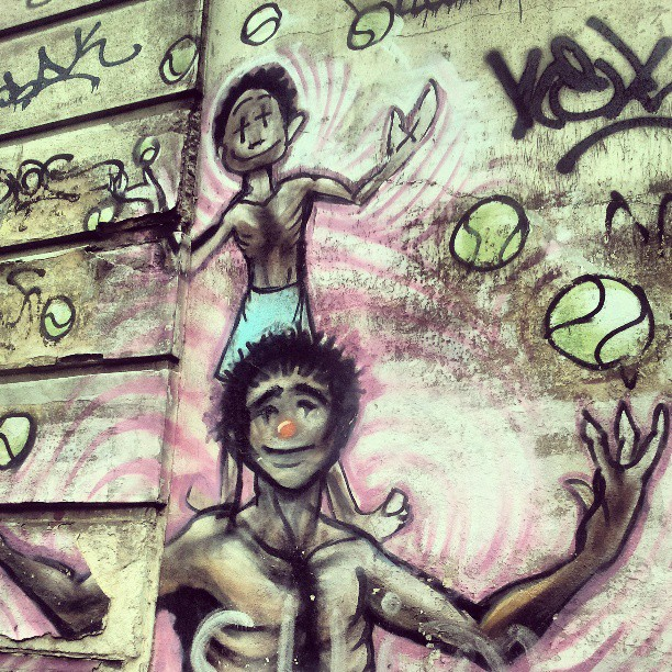 #StreetArtRio #graffrio #grafite #graffiti #instagraff #instafite #urbanart #urbanarteverywhere #streetart #streetarteverywhere #igersrio #muros #mural #arteurbano #arteurbana #childhood #criança #circo #meton #jb #jardimbotanico #rioeuteamo #riodejaneiro #brazil #brasil
