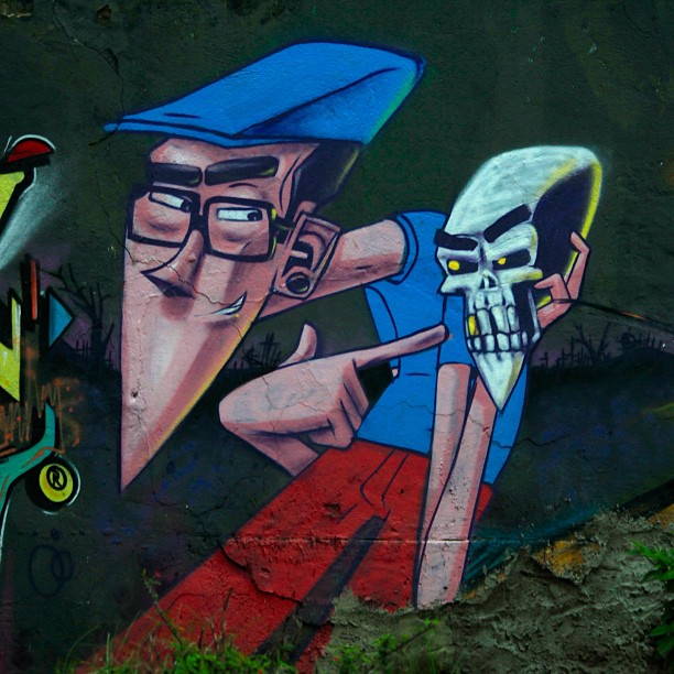 Work by one of my favorite Graffiti Artist from Rio @marceloeco