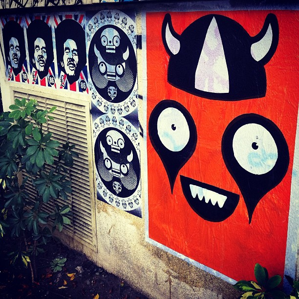 #streetartrio #rafocastro #86corp