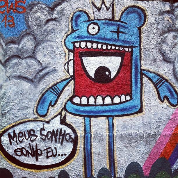 Da série Flanando pelas ruas do Rio #grafite #filosofiaderua #rioeuamoeucuido