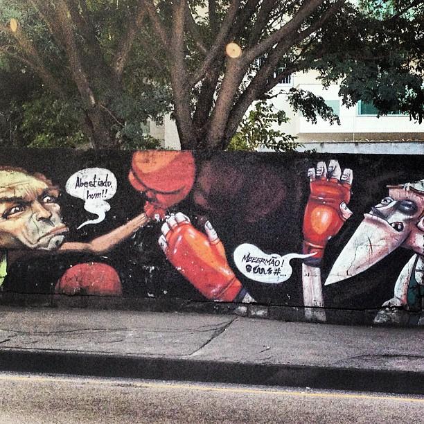Em combate! #murosdorio #grafite #graffrio