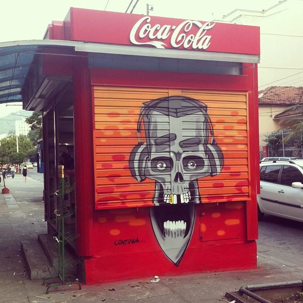Finish tomorow! #cocacola #marceloeco #tijuca #errejota #riodejaneiro