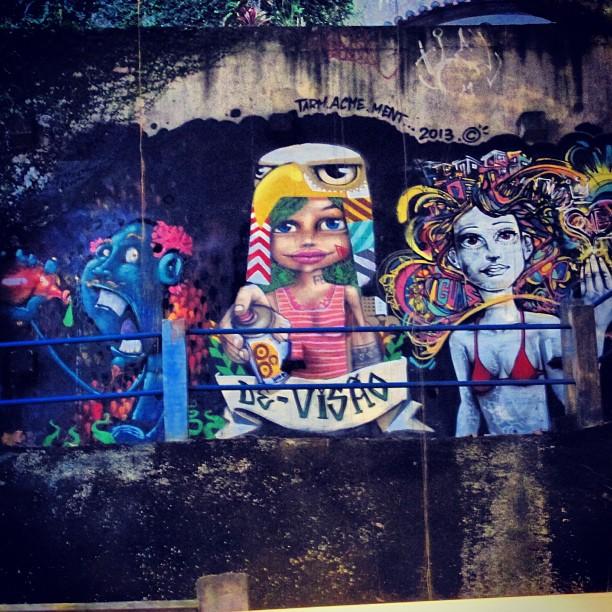 Fresquinho na niemeyer! #ctrlaltrio #graffiti #tarm @marceloment #acme #riodejaneiro #art #rio #arte #streetart #urbanart #carioca