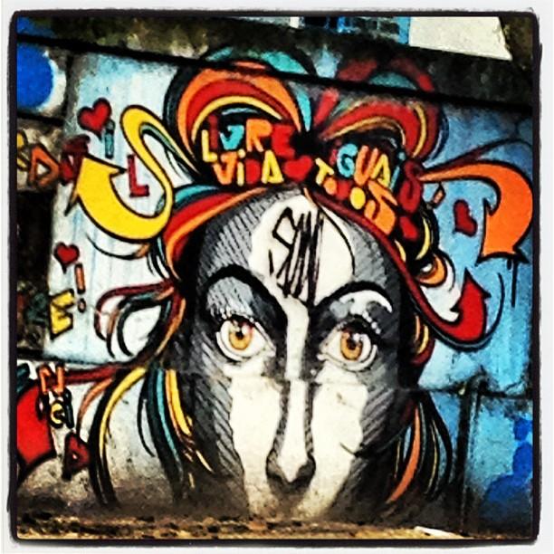 Medusa de idéias! #graffrio #grafite #murosdorio #artelivre