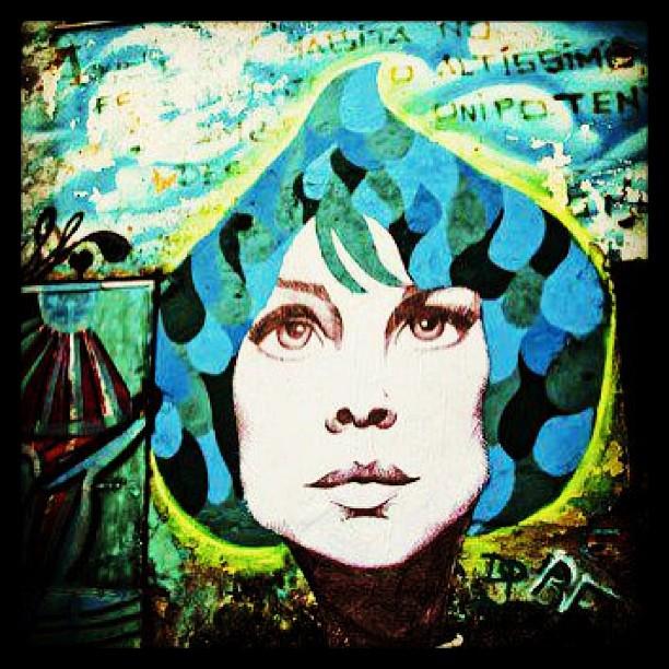 Mural da @dicoutof ! Matéria com a artista no www.conexaocultural.org #conectese #conexaocultural #artederua #rioeuteamo #todorio