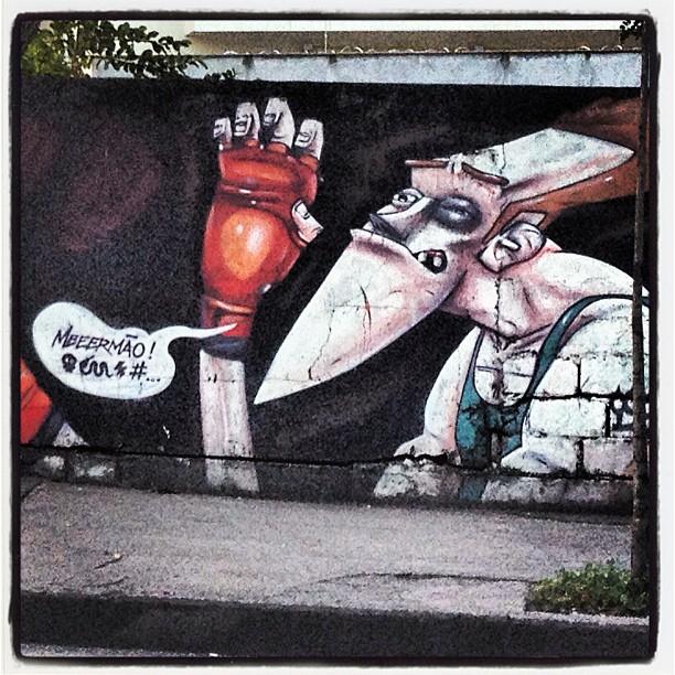 No detalhe (2). #murosdorio #grafite #graffrio