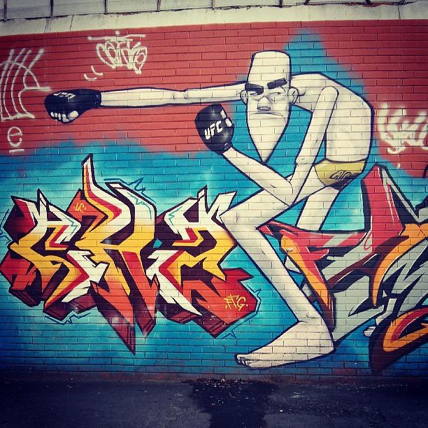 Um #graffiti especial pra vc, @gesias