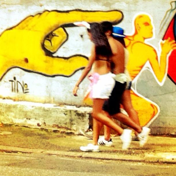 Wall at Gávea