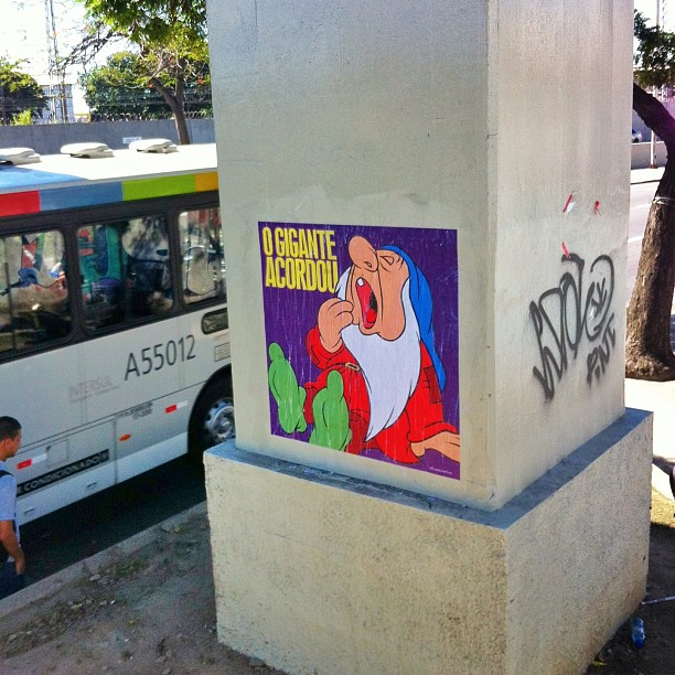 #fusocoletivo #ogiganteacordou