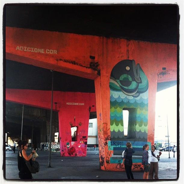 Adicione cor! Adoramos!  #conectese #conexaocultural #riodejaneiro #portomaravilha